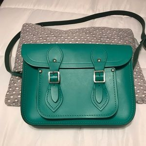 Cambridge Satchel Company Kelly green purse